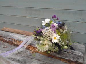 Vintage Bouquet studded with the heavenly scent of sweet peas.